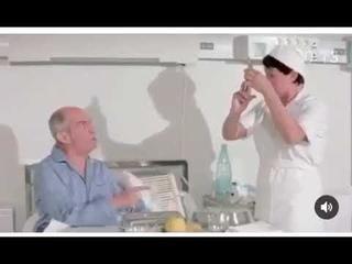 Прививка)) Луи Де Фюнес: Нет, я не согласен прививаться! Но это лучшая вакцина в мире. Нет, доктор!