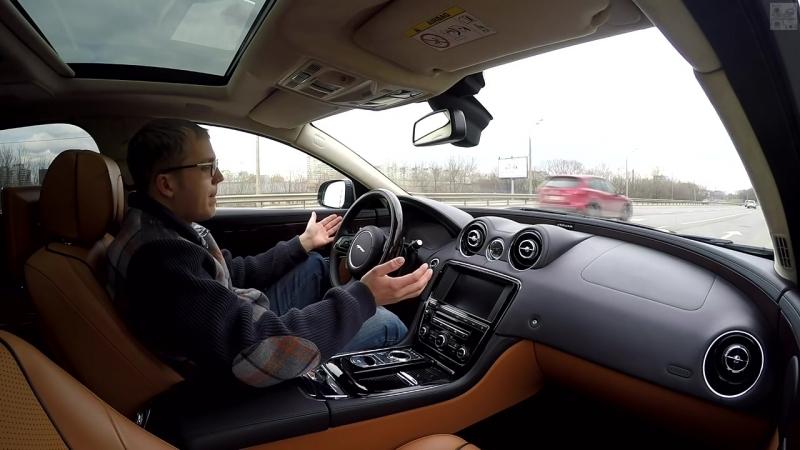 Супер тест-драйв Jaguar XJ L - лучше не бывает!
