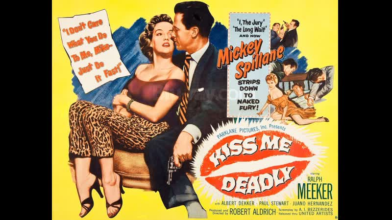 Kiss Me Deadly 1955 Ralph Meeker Albert Dekker Paul Stewart
