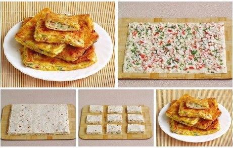 восточные гренки. ингредиенты:армянский лаваш – 1 шт;мягкий плавленый сыр «сливочный» – 200 грамм;