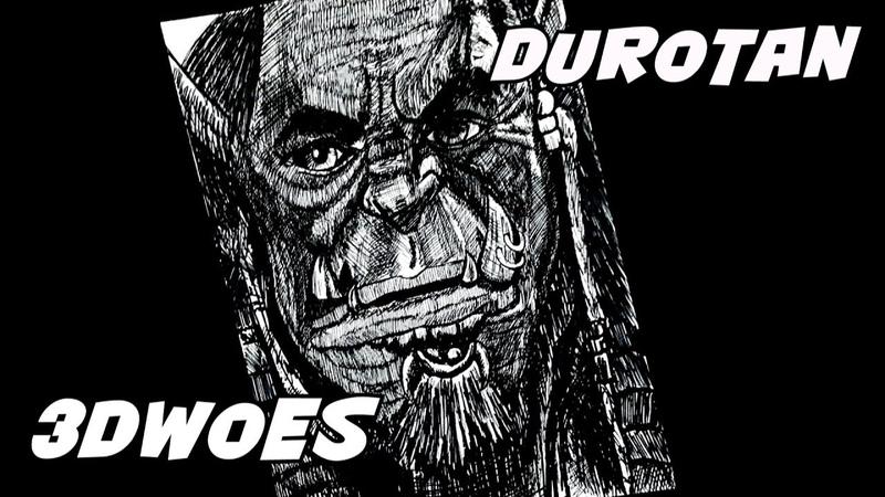 Drawing Durotan Warcraft