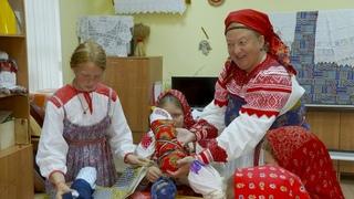 Занятие «Школа материнского фольклора» в детской музыкальной школе №4 г. Вологды
