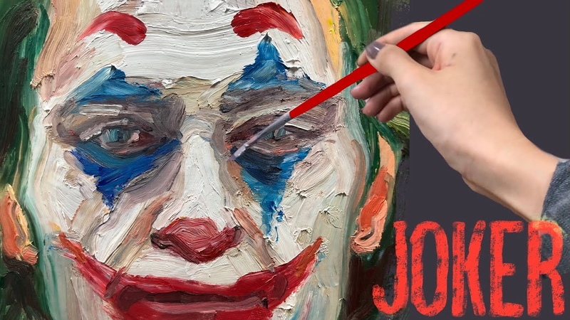 Joker Artwork - Oil Painting - 영화 조커 - 유화