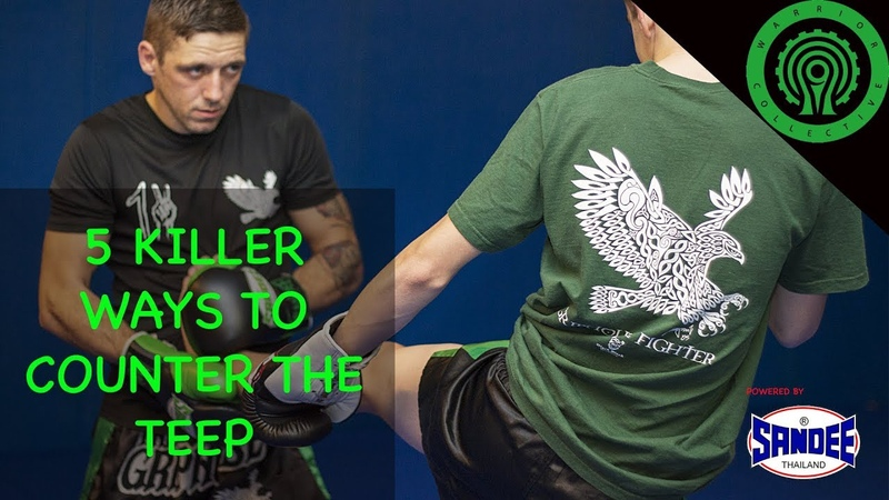 5 Killer Ways to Counter your Opponents Teep in Muay Thai