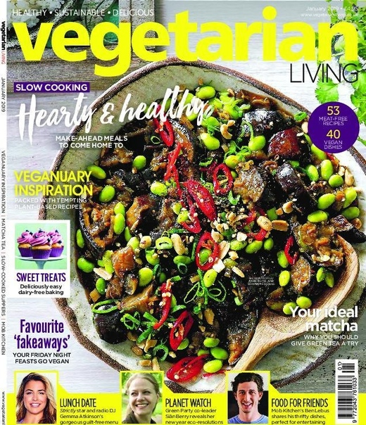 2019-01-01 Vegetarian Living
