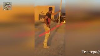 Сирия. Война в Сирии. Львы Сирийской арабской армии преследуют остатки ИГИЛ в пустыне Ракка.