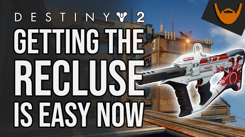 The Recluse is EASY to Get in Destiny 2 Shadowkeep