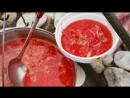 Наваристый мега БОРЩ на КОСТРЕ Как приготовить борщ Рецепт вкусного борща