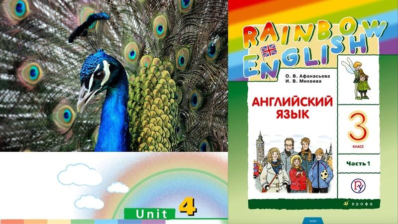 Rainbow English 3 1 Unit 4 Step 2 Английский язык 3 класс ч 1 Афанасьева