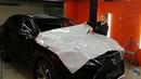 Lexus RX 350. Обновили плёнку на капоте и над лобовым стеклом. PlenkiSPb