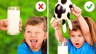 Вкусные поделки и хитрости для креативных мам || Полезные гаджеты и лайфхаки для родителей