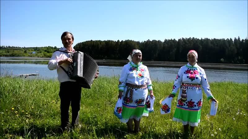 Роза Селюнина и Зоя Пайметова с Буйское Йуксо
