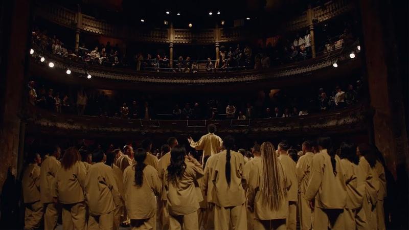 Kanye West Sunday Service Collective @ Théâtre des Bouffes du Nord Paris France 03 01 2020