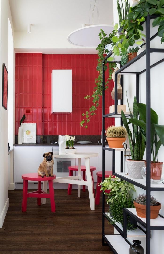 Небольшая квартира в Москве, 35 м² от  Марины Хлызовой