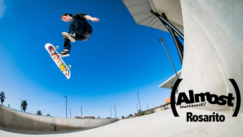 Almost Skateboard's Rosarito Video
