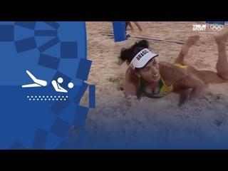 Бразилия — Китай. Пляжный волейбол (жен). Групповой турнир. Олимпиада-2020