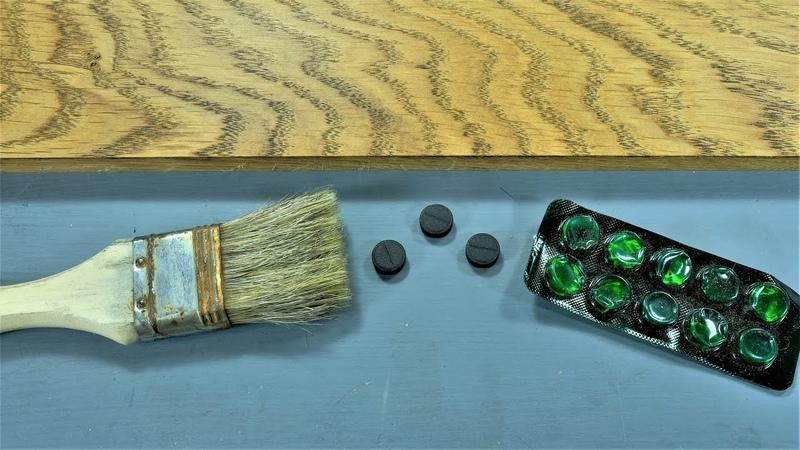 Отделка древесины углем Порозаполнение Столярные уроки