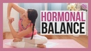 30 min Yin Yoga for Hormones - Yoga for Adrenal Fatigue Thyroid Issues