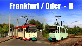【4K】FRANKFURT/ODER TRAM  (2020)