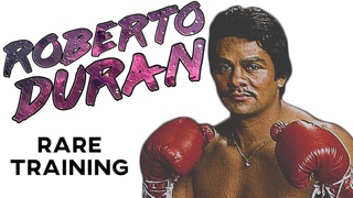Roberto Duran RARE Training In Prime