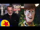 The Cast of Toy Story 4 In the Recording Booth Pixar Side By Side