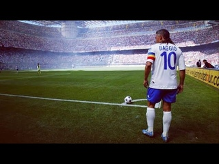 Roberto Baggio Showing He Was The Most Talanted Player ● Italian Treasure