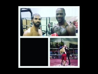 David Haye vs Deontay Wilder - Sparring Fight (Tyson Fury Preparation)