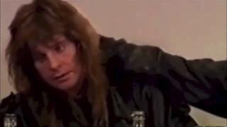 ✓ Ozzy Osbourne Drugged up interview