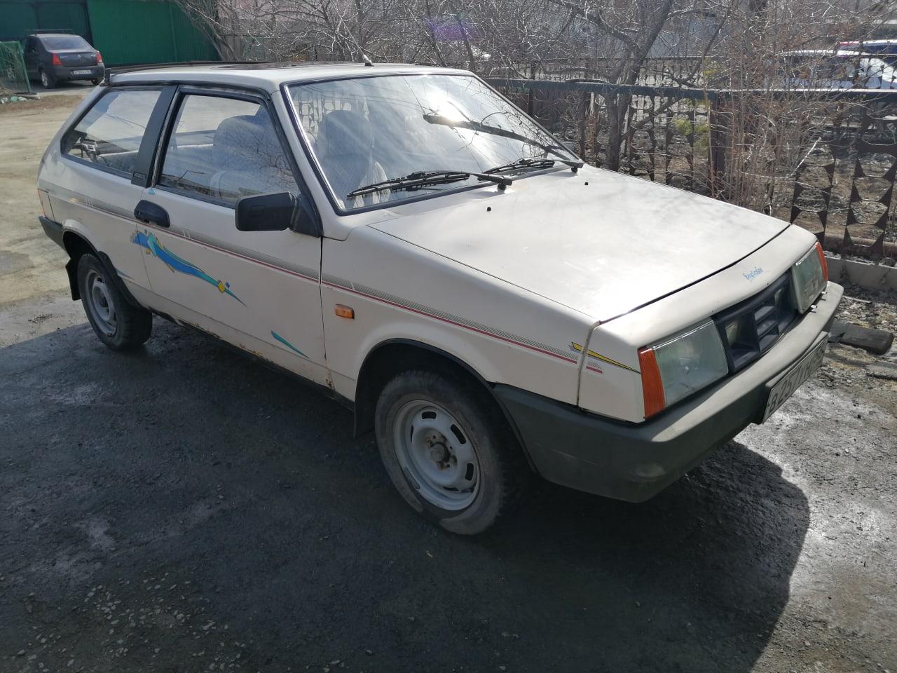 ВАЗ-21086 экспортная, 1989года, двигатель 1,3.   Объявления Орска и Новотроицка №3671