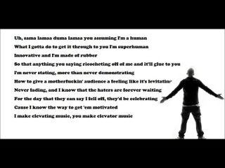 Eminem Says 101 Words In 16 Seconds