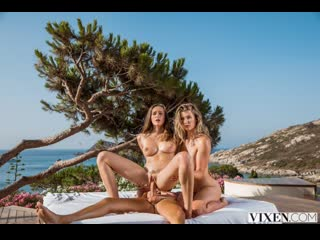 Mia Melano & Stacy Cruz - Something To Look Forward To [sex секс порно  porn  pov blowjob минет tits cиськи]