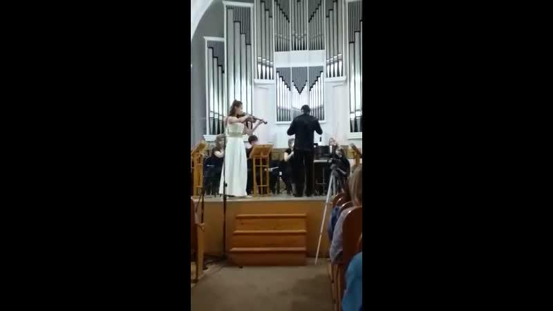Дети играют с оркестром Евсюкова Кристина 19.05.2019 год