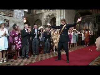 танцы в церкви Святого Варфоломея в Лондоне