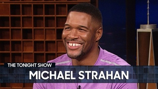 Michael Strahan Says Good Morning America Is More Intimidating Than the NFL   The Tonight Show