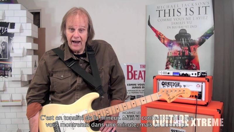 Walter Trout Blues Guitar lesson Guitare Xtreme 72