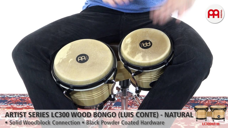 Artist Series LC300 Wood Bongo Natural LC300NT M