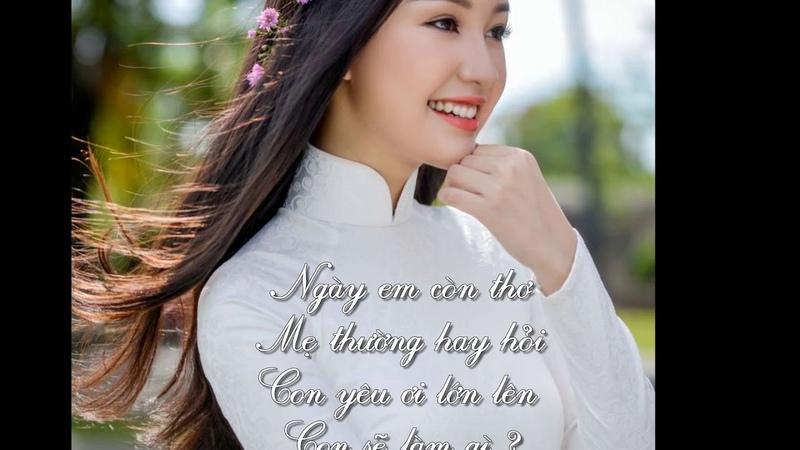 MAI SAU EM SẼ LÀ CÔ GIÁO ca sĩ Hà Thanh thơ LS Bùi Trọng Hiển nhạc Nguyễn Hoàng Đô