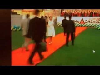 Тимошенко упала, идя по красной дорожке