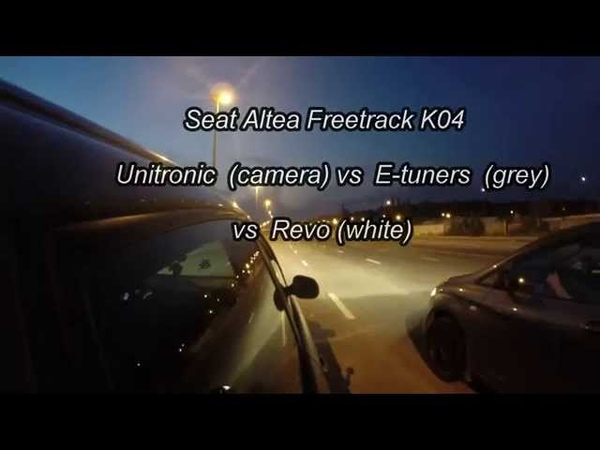 Seat Fretrack K04 E tuners Anat0lievich Unitronic JCarter Revo silverOFF