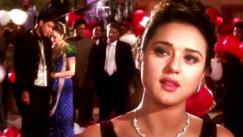 Kisi Ki Aankhon Ka Kajal Ban Jata Hai | Ajay Devgan, Madhuri Dixit, Priti Zinta | Full HD Video Song