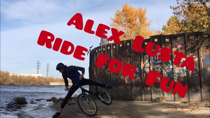 Biketrial Alex Lusta Ride for Fun