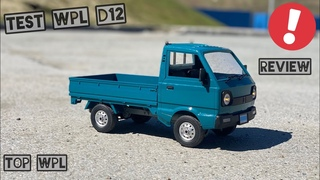 WPL D12 test and review - TOP WPL! | бюджетки | poritor rc