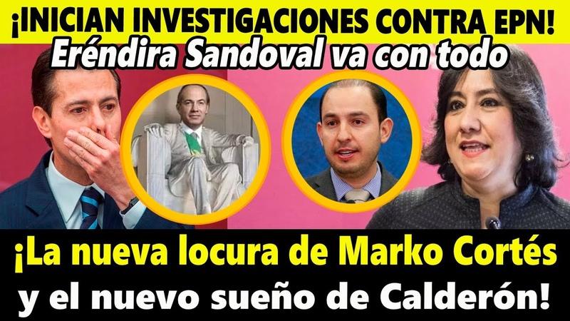 Inician las investigaciones contra Peña Nieto Conoce el nuevo sueño de Felipe Calderón