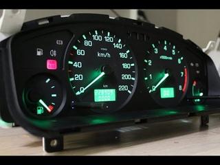 Пересвет приборной панели Nissan Almera P11
