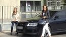 La Reina Letizia y la princesa Leonor visitan al Rey Juan Carlos