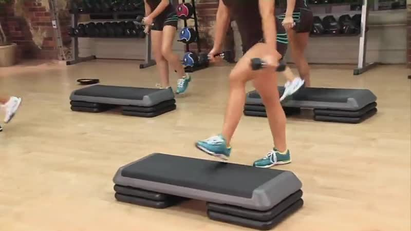 Cathe Friedrich - 9. All Out Low Impact HiiT. Xtrain