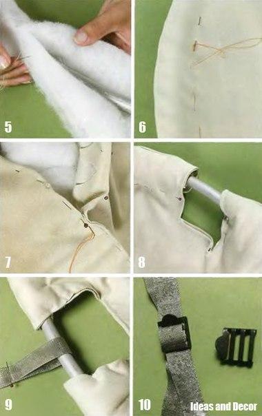 Как сделать кресло-гамак своими руками