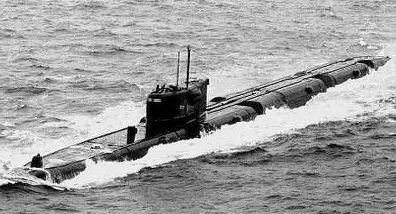 Гвардейская атомная подводная лодка «К-22»