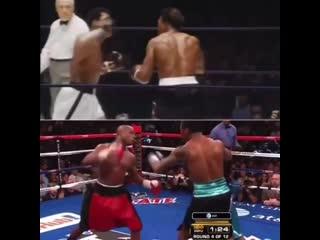 Оттяжка и контратака от великих мастеров ринга - Мохаммеда Али и Флойда Мейвезера.