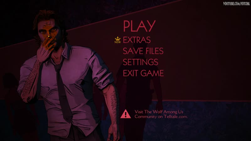 The Wolf Among Main Menu